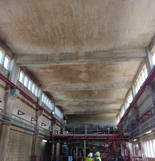 Injeção e reparação de betão
